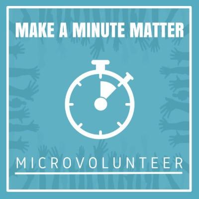 Celebrating Microvolunteering